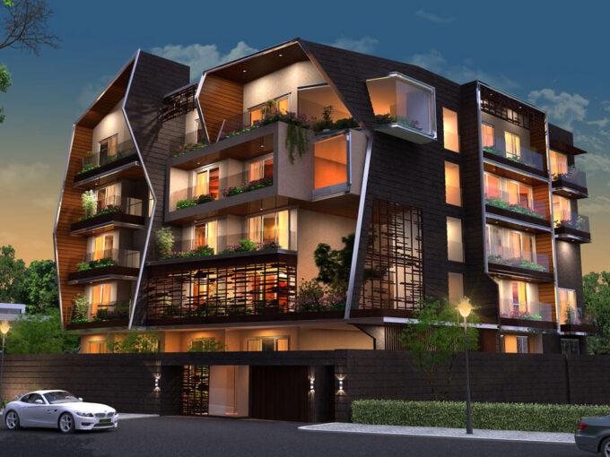 3BHK flat in Promenade Road